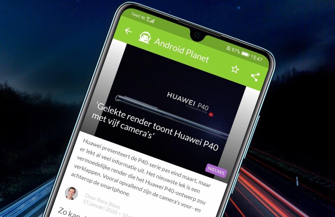 Android-nieuws #3: Huawei P40 gelekt en Xiaomi Pocophone F2 op komst