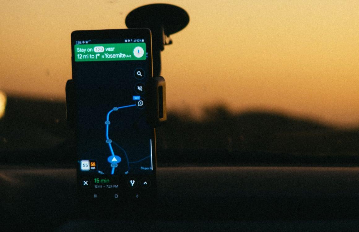 autorijden met smartphone