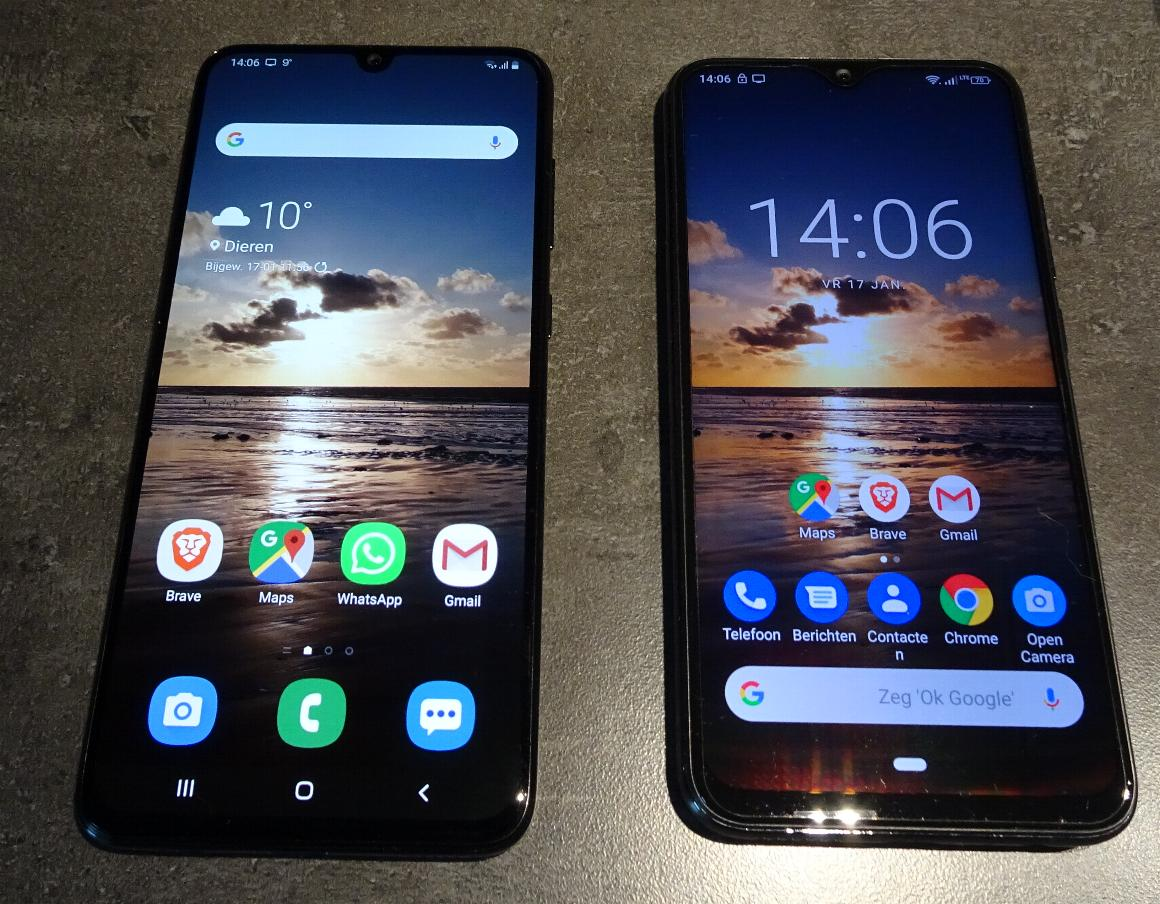 Samsung Galaxy A70 vs Gigaset GS290