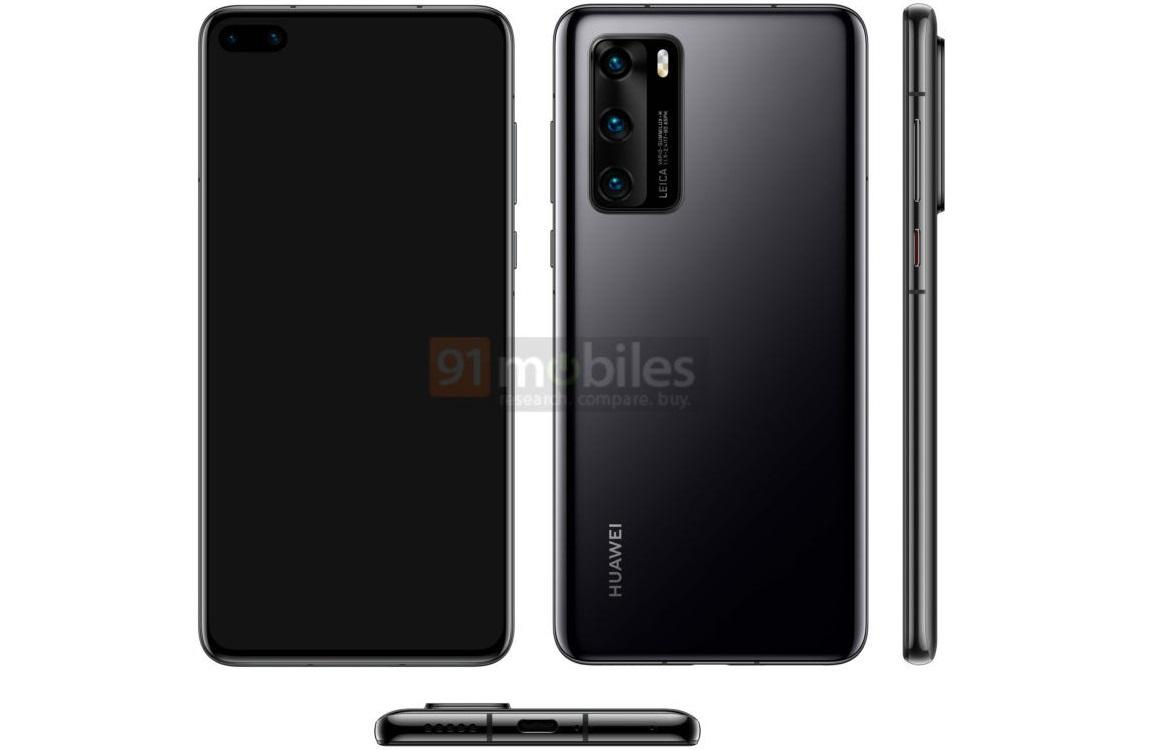 Huawei P40 ontwerp