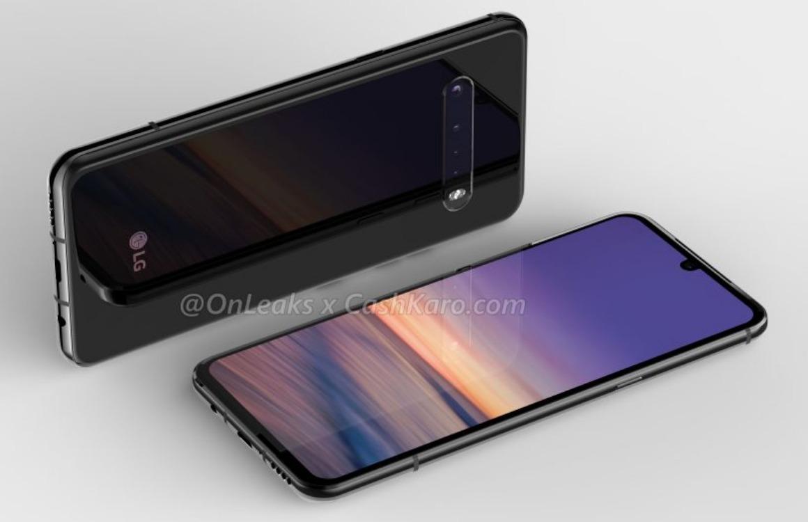 Renders: LG G9 krijgt vertrouwd design met vierdubbele camera