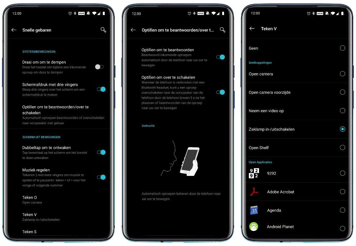 'Snelle gebaren' - OnePlus