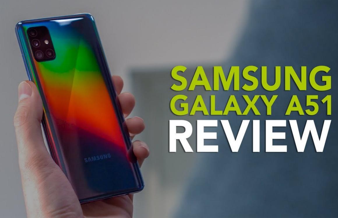 Videoreview: Samsung Galaxy A51 is betaalbaar en verrassend compleet