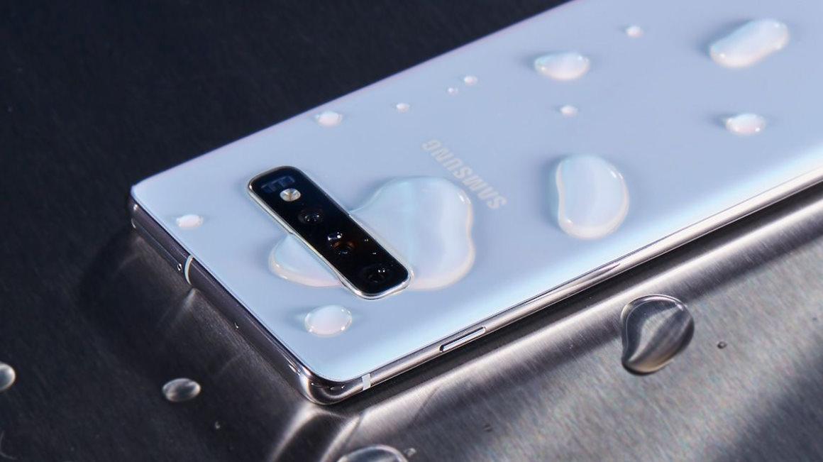 Samsung waterdichte telefoon