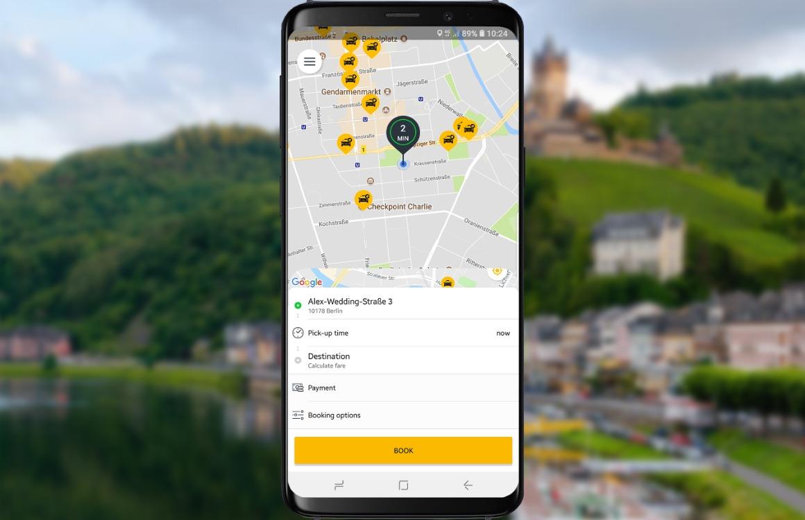 taxi-app taxi.eu