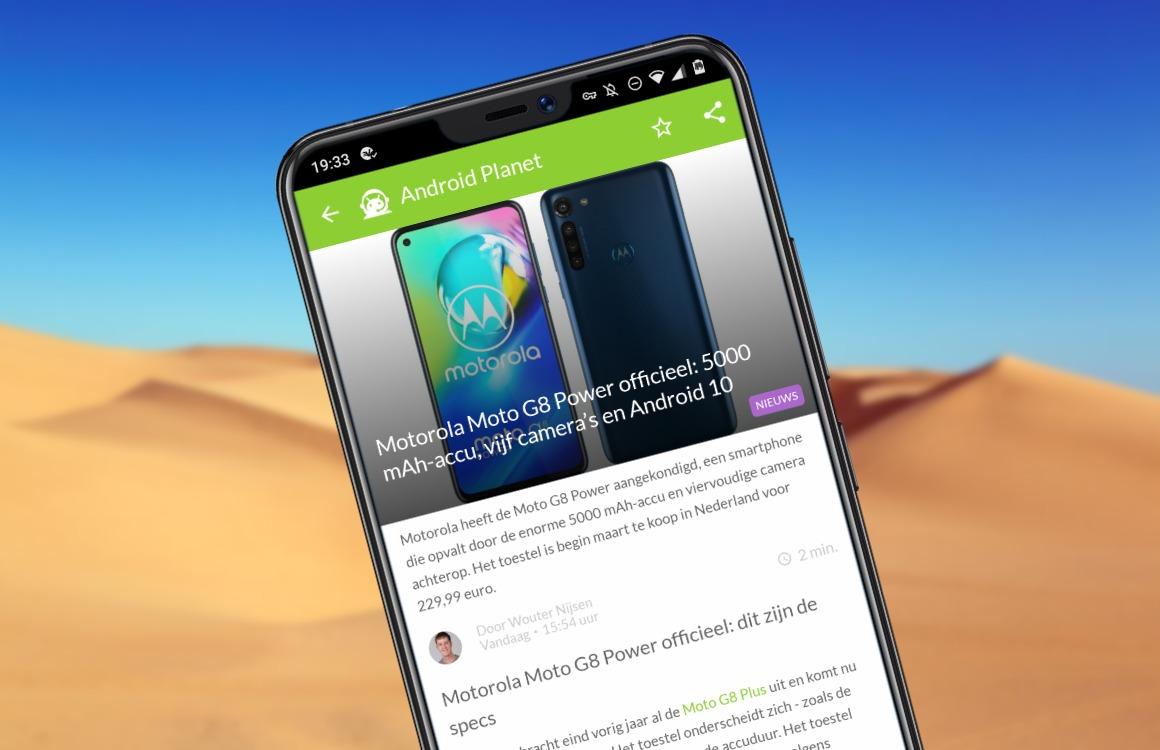 Android-nieuws #6: Motorola Moto G8 Power officieel en grote update voor Google Maps