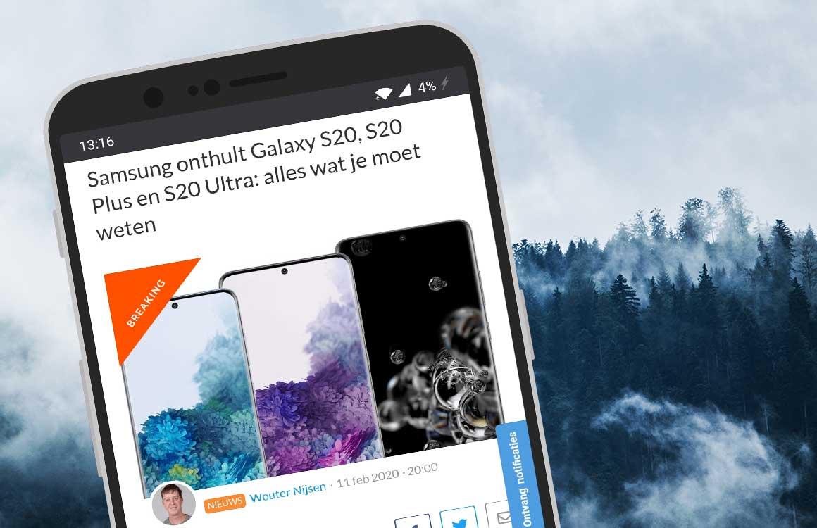 Android-nieuws #7: Samsung Galaxy S20 en Z Flip officieel, MWC geannuleerd