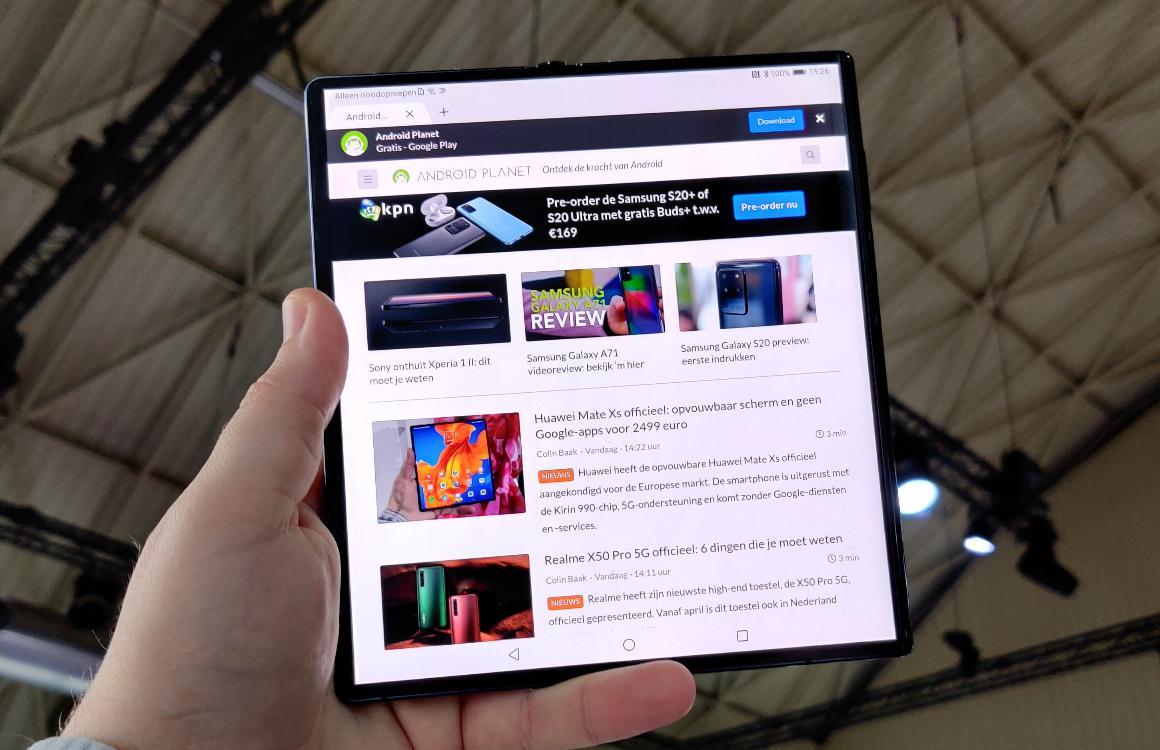 Huawei Mate Xs preview: kijkje in de toekomst heeft ook grote nadelen