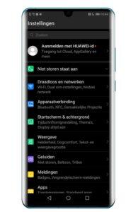 Huawei P30 Pro schermresolutie