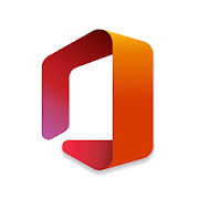 Microsoft office android logo