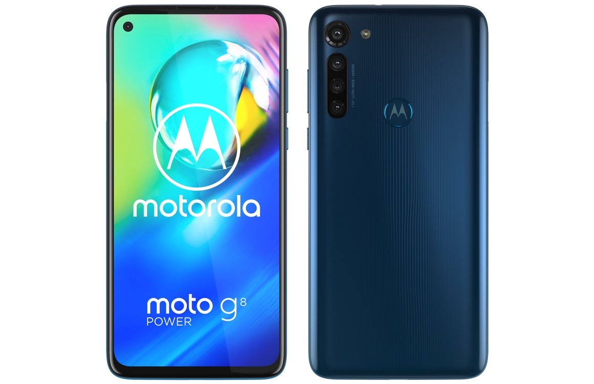Motorola Moto G8 Power officieel: 5000 mAh-accu, vijf camera's en Android 10
