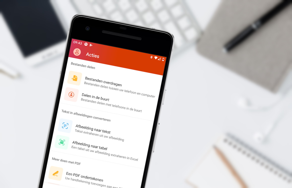 Microsoft bundelt apps in nieuwe Office-app voor Android-smartphones