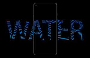 OnePlus 8 - water