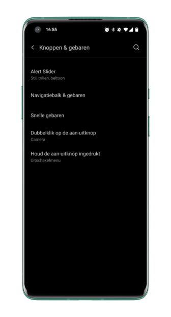 OnePlus 9 Pro - Snelle Gebaren