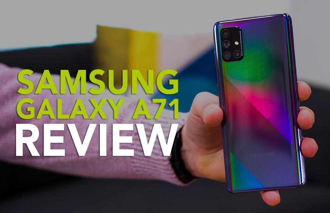 Videoreview Samsung Galaxy A71: compleet, maar iets te dure smartphone
