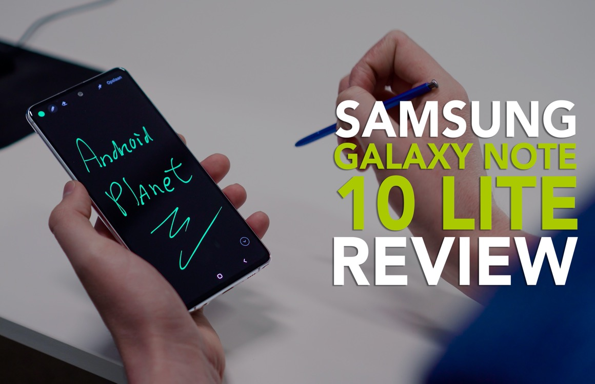 Videoreview: Samsung Galaxy Note 10 Lite is een verwarrend instapmodel