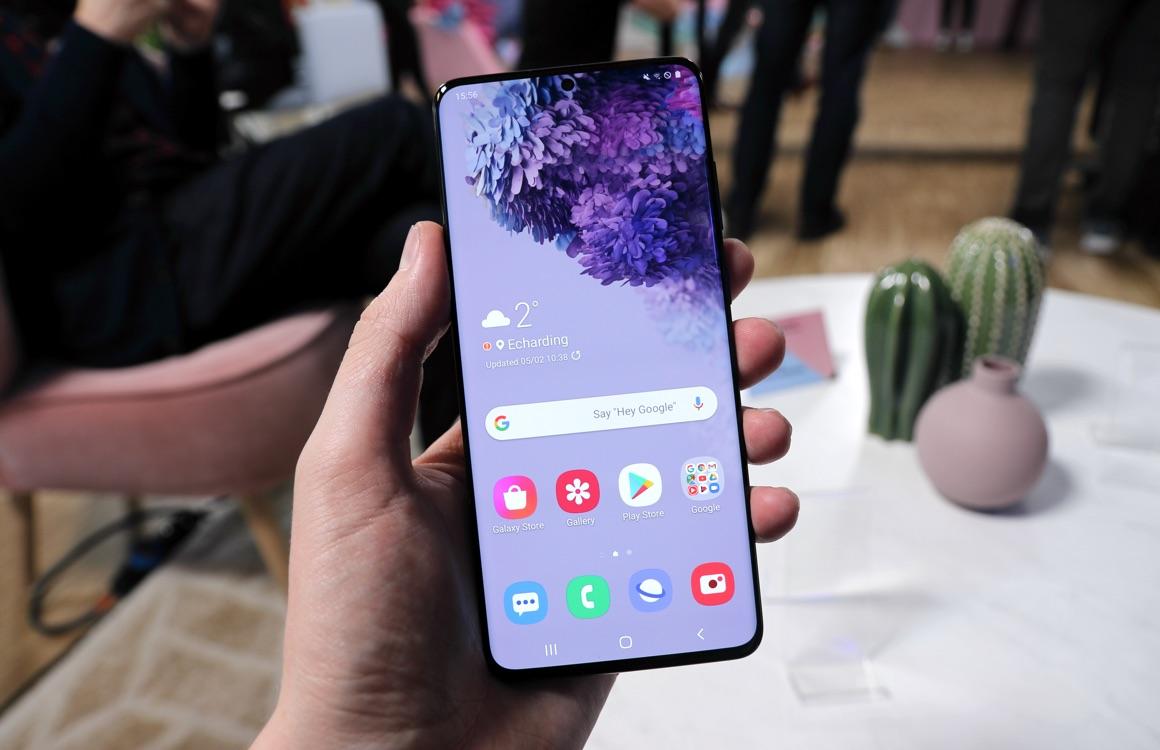 '120Hz-scherm Samsung Galaxy S20 straks ook op hoogste resolutie te gebruiken'