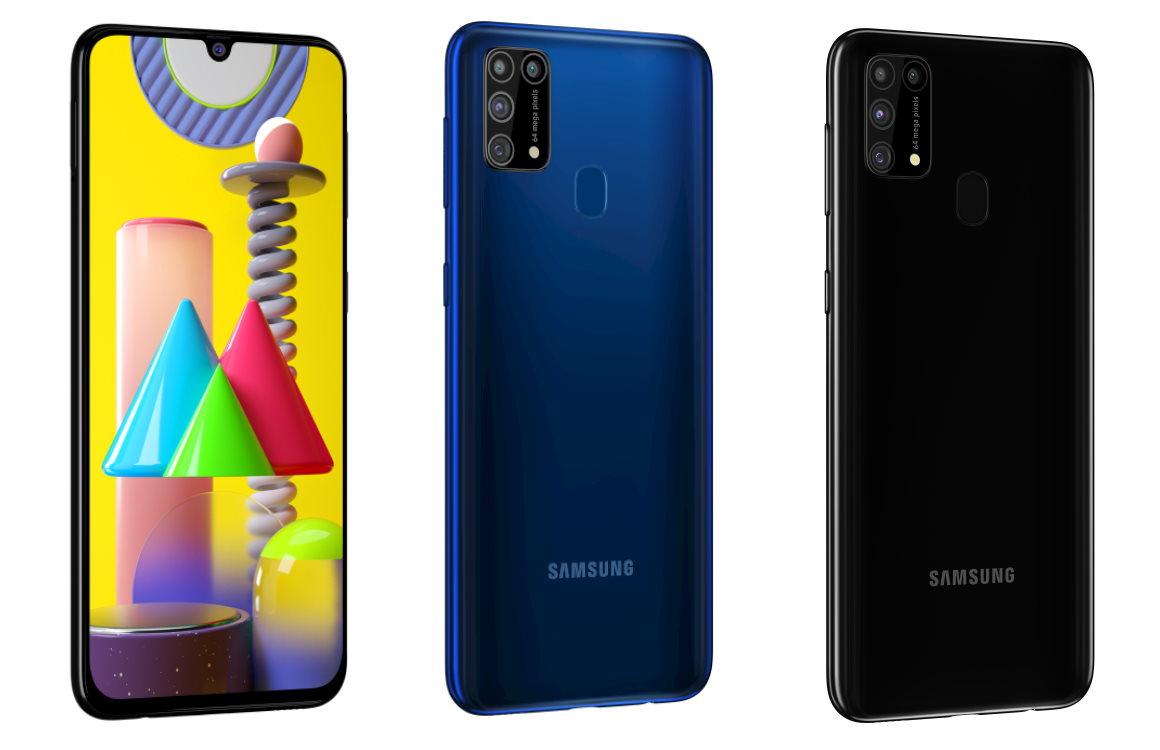 Samsung Galaxy M31 officieel: enorme accu, vijf camera's en Android 10