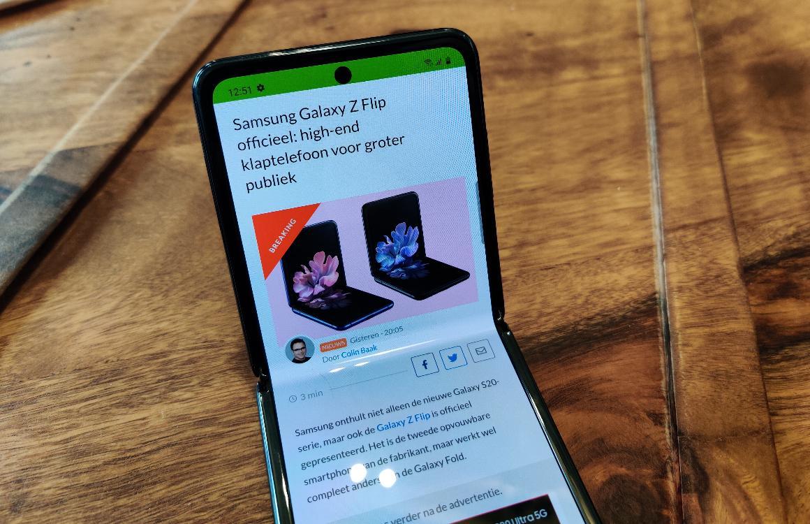 Flex-modus Samsung Galaxy Z Flip wordt beschikbaar voor andere fabrikanten