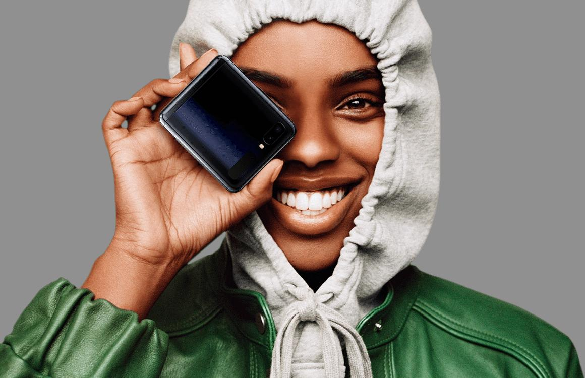 Opvouwbare Samsung Galaxy Z Flip nu te koop in Nederland