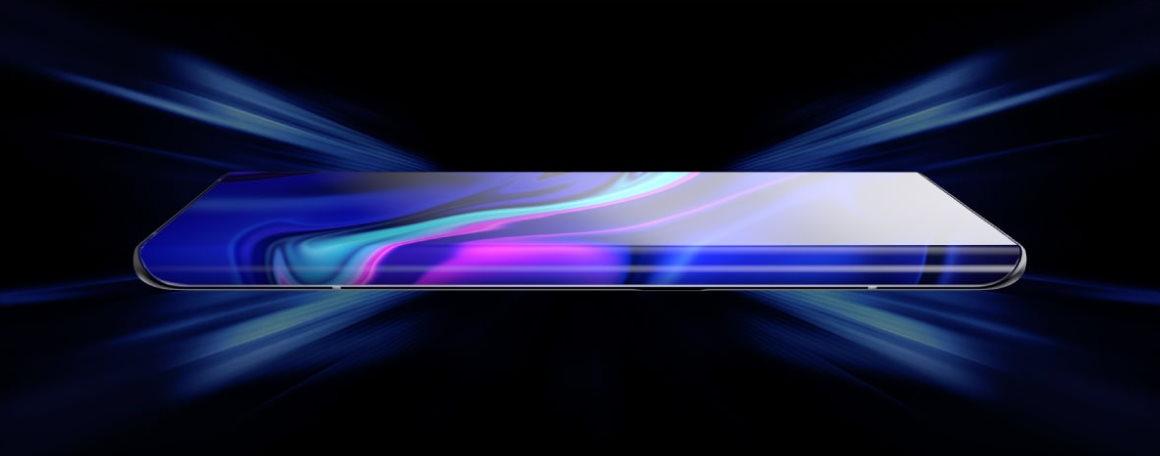 Vivo Apex 2020 concept scherm