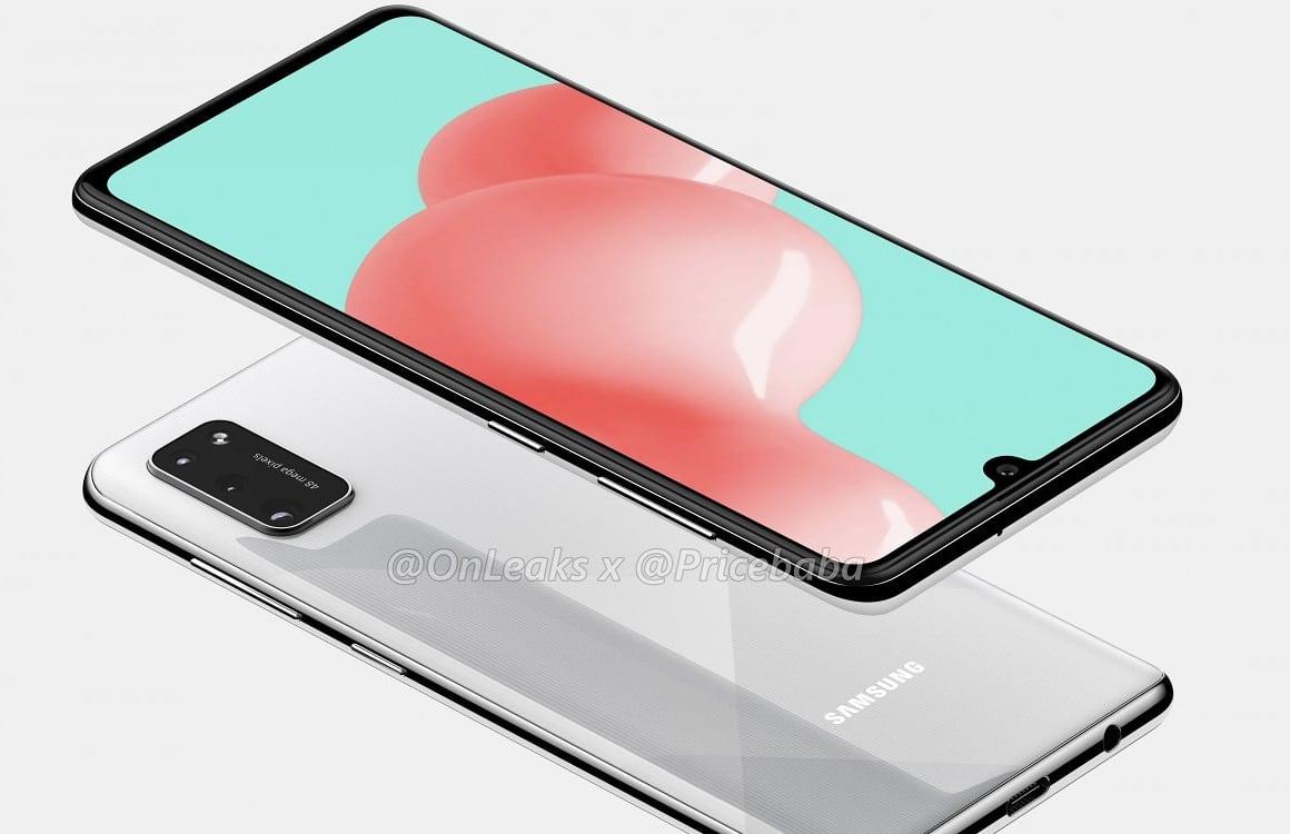 'Samsung Galaxy A41 heeft verbeterde camera en koptelefoonaansluiting'