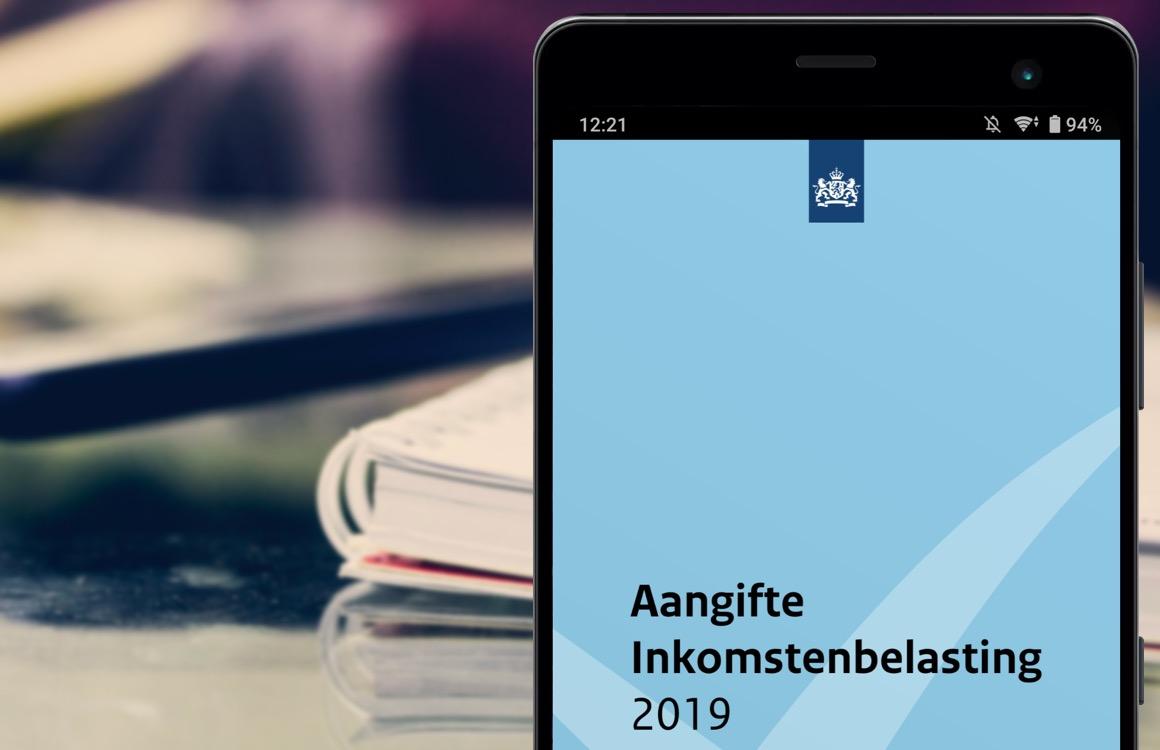 Aangifte 2019: doe je belastingaangifte op je smartphone met de app