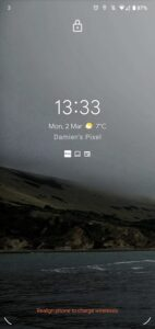 android 11 draadloos opladen