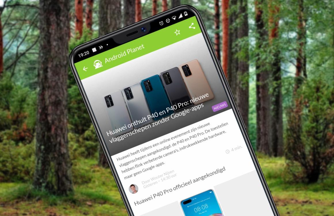 Android-nieuws #13: Huawei P40 Pro en Xiaomi Mi 10 zijn gelanceerd