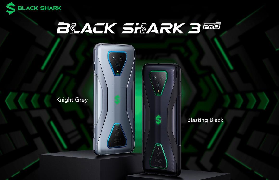 Black Shark 3 (Pro) officieel: gamingsmartphone met 90Hz-scherm