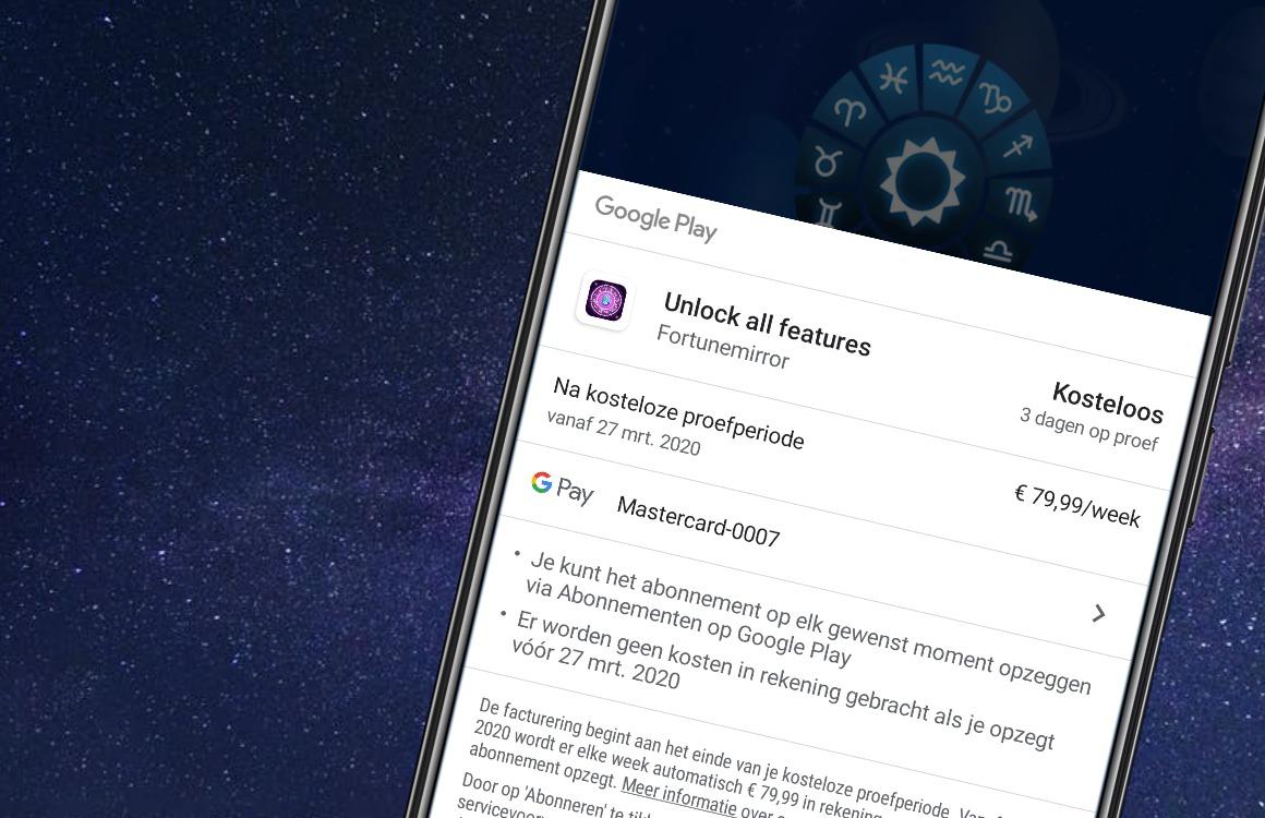 Abonnementen van 80 euro per week: zo herken je fleeceware-apps