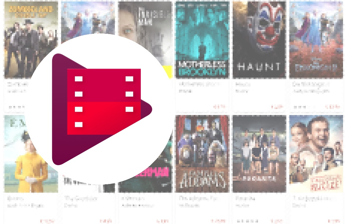 Code in Google Play Films-app wijst op gratis films met advertenties