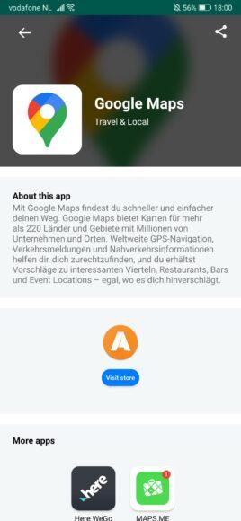Huawei Mate Xs - AppSuche