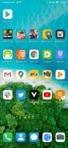 Huawei Mate Xs - thuisscherm