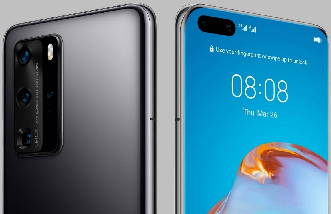 'Huawei P40 en P40 Pro volledig gelekt: dit moet je weten'