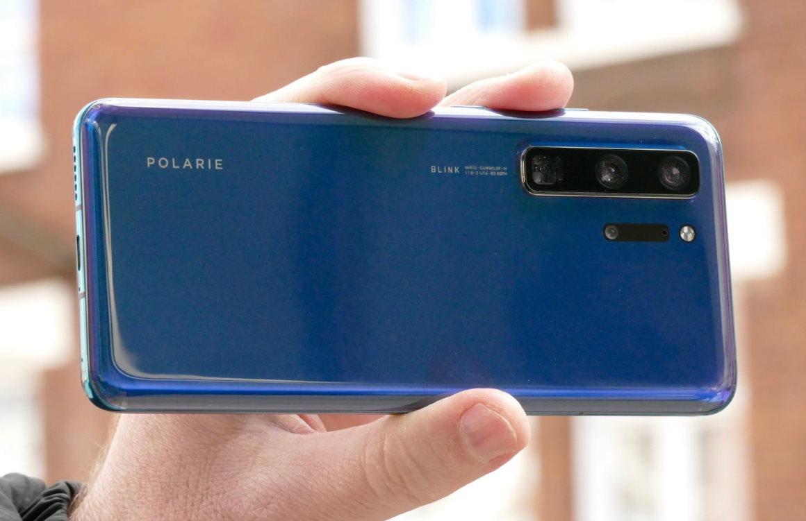 'Huawei P40-prototype met driedubbele camera uitgebreid op de foto gezet'