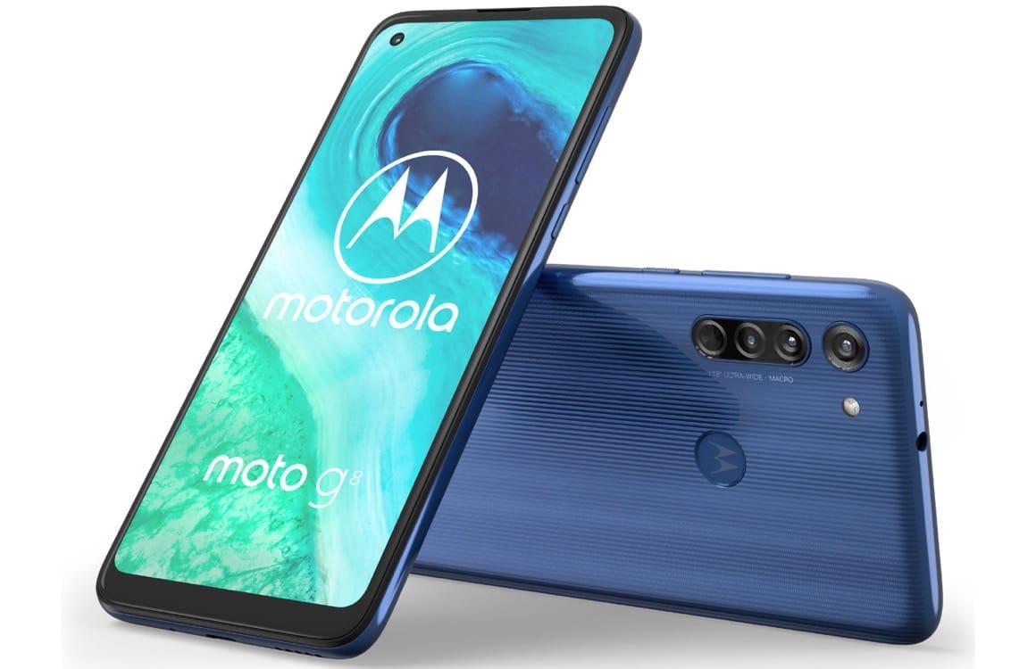 Motorola Moto G8 aangekondigd: grote accu en driedubbele camera