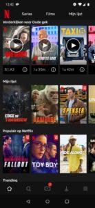 Netflix mijn lijst