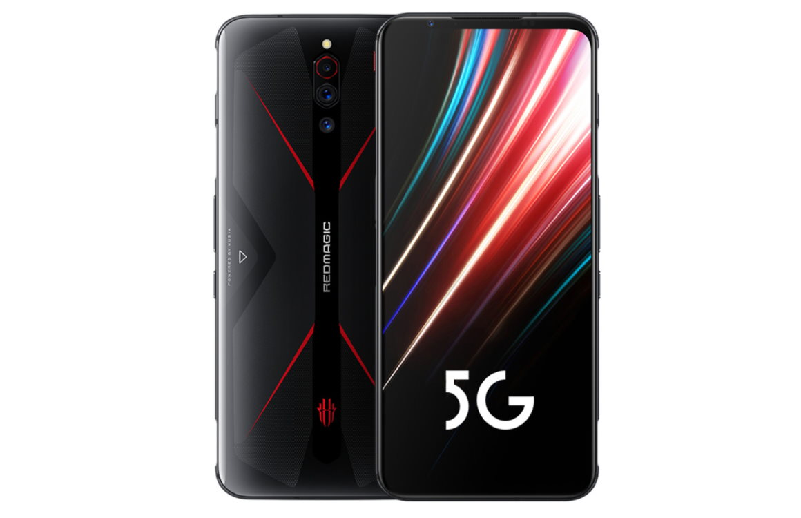 Nubia red magic 5G gepresenteerd