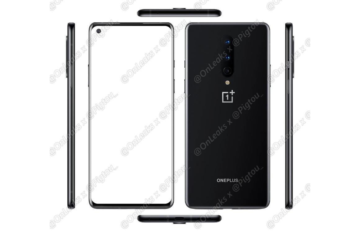 Gerucht: OnePlus 8 krijgt hetzelfde design als OnePlus 8 Pro