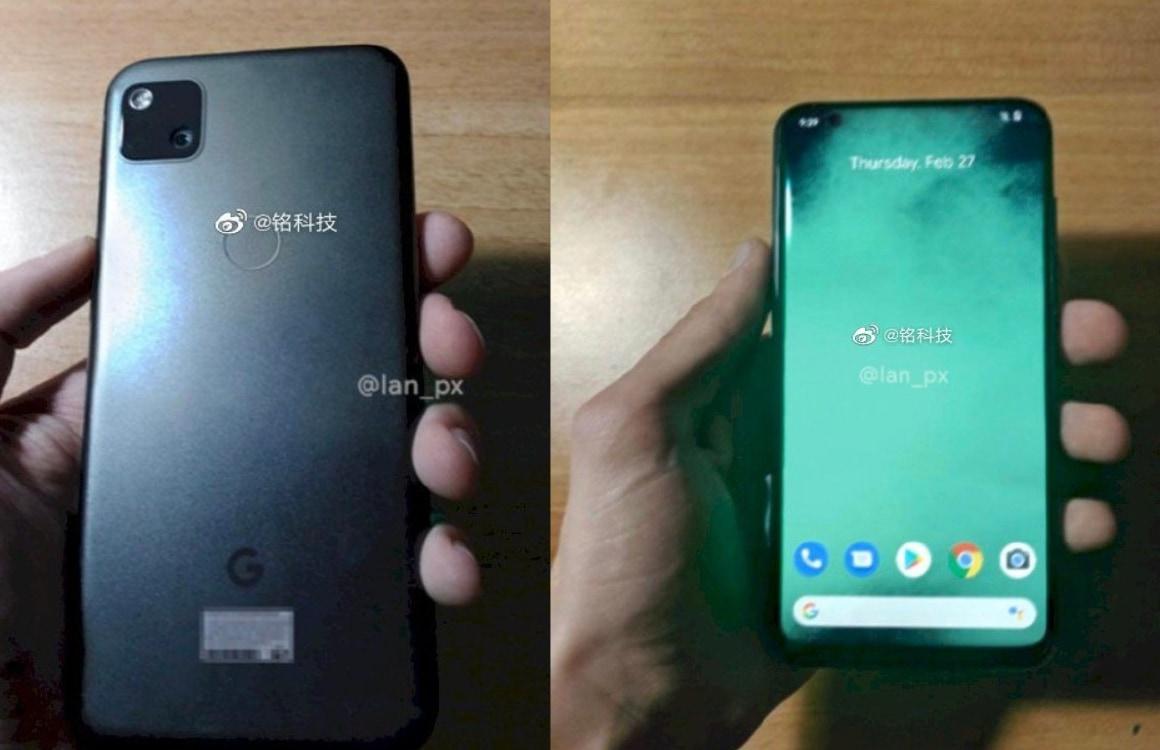 Google Pixel 4A gelekt