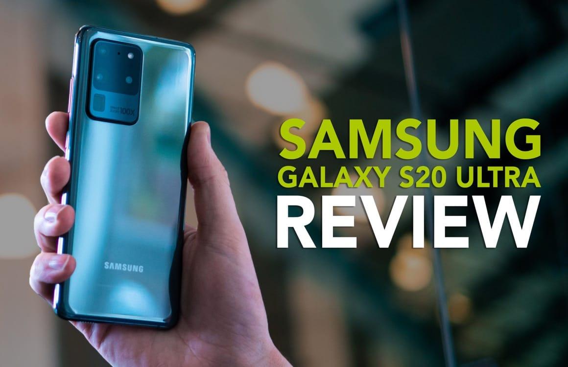 Videoreview: Samsung Galaxy S20 Ultra is ultraduur, maar niet ultra-goed
