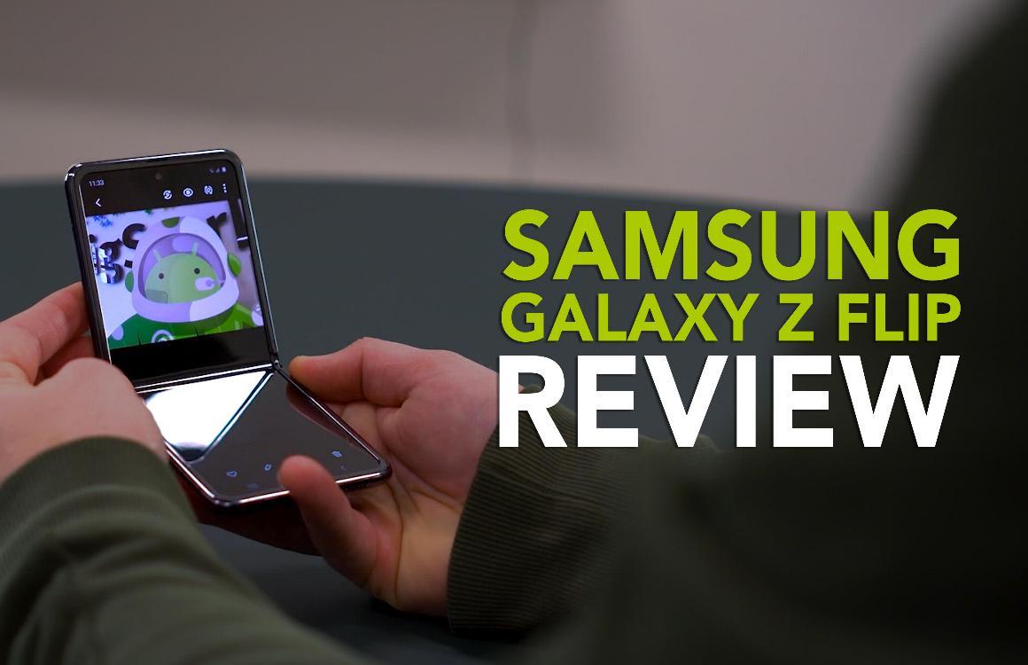 Samsung Galaxy Z Flip videoreview: opvouwbare telefoons worden serieus