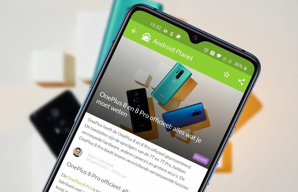 Android-nieuws #16: OnePlus 8 (Pro) officieel en Android 10 voor Galaxy A50