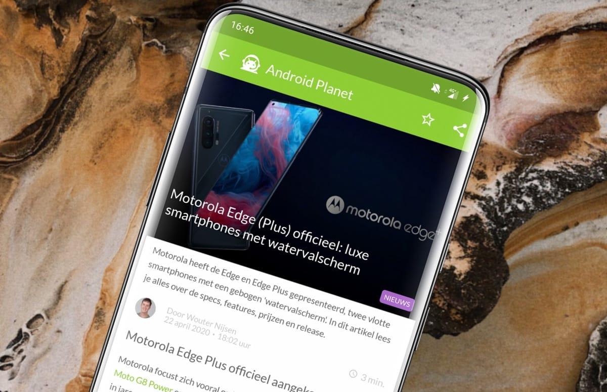 Android-nieuws #17: Motorola Edge (Plus) officieel, LG Velvet en meer