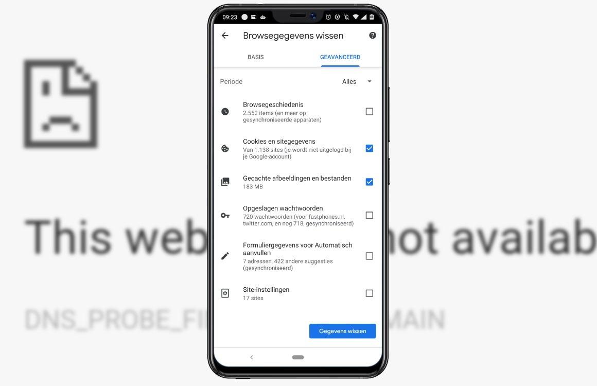 google chrome werkt niet 1