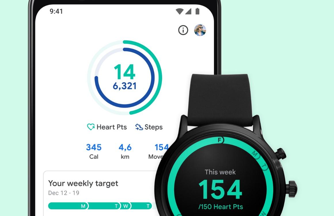 Google Fit krijgt update: verbeterd uiterlijk, stappenteller en meer