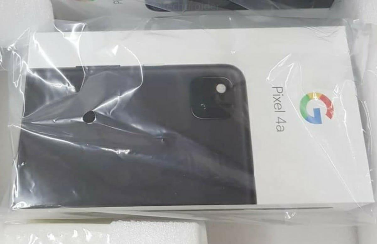 Gelekte Google Pixel 4a-verpakking hint mogelijk naar snelle aankondiging