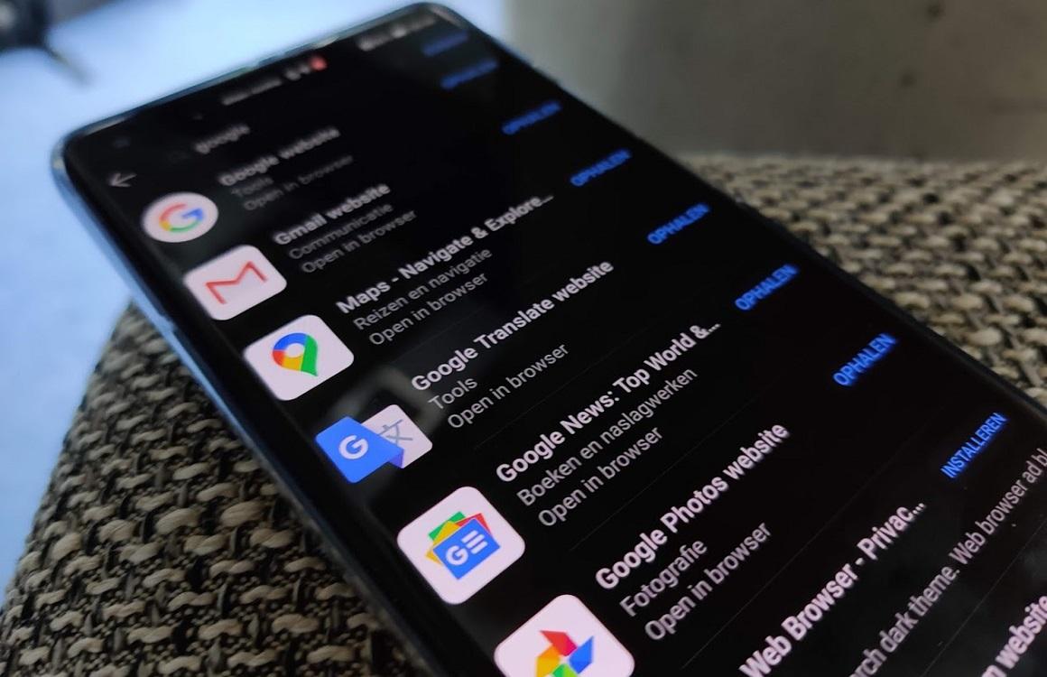 Huawei wil Google-apps in zijn AppGallery-winkel, onduidelijk of dat mag
