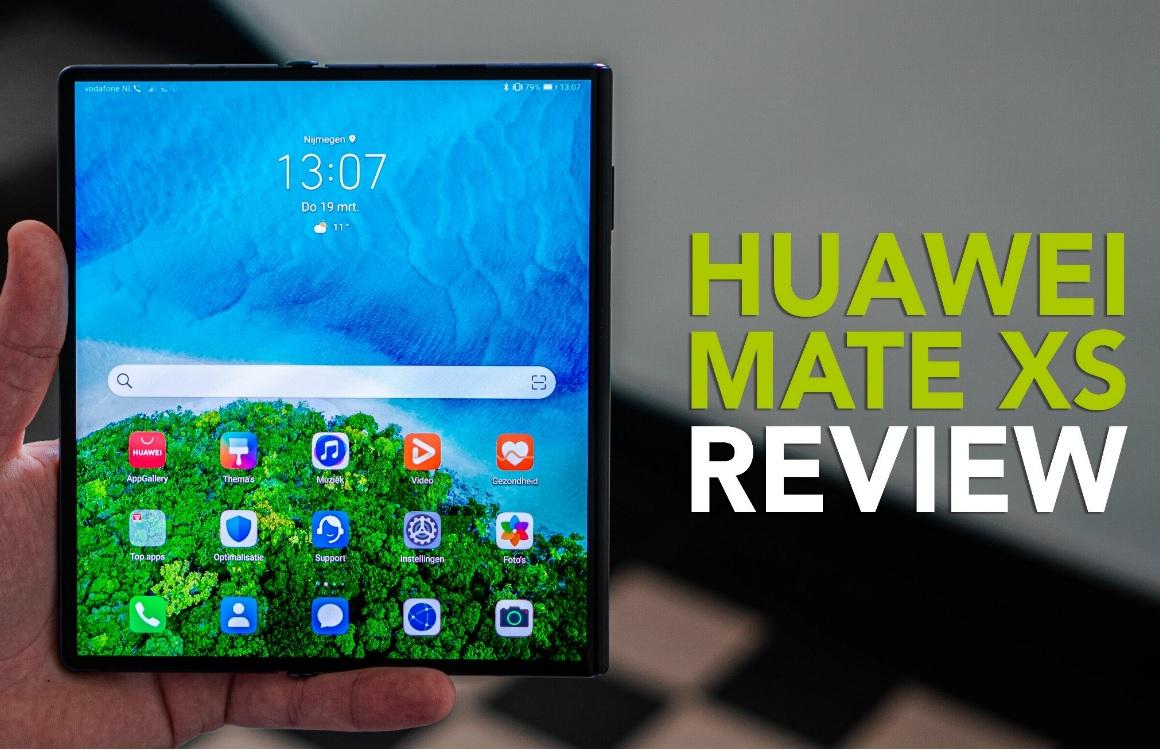 Huawei Mate Xs videoreview: prachtig apparaat, maar te beperkt